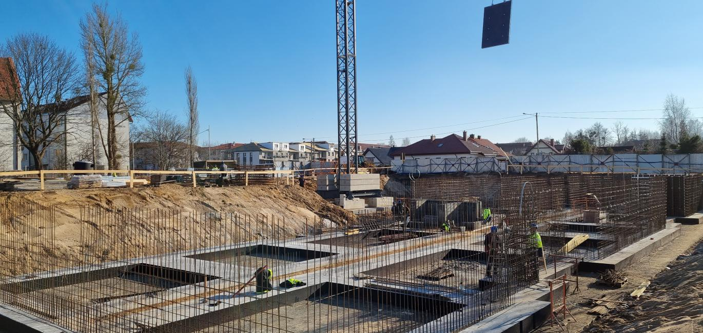 Pierwsze zdjęcia z budowy Osiedla Ludova